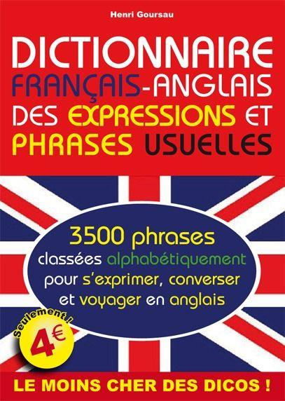 Dictionnaire fran ais anglais des expressions et phrases usuelles henri goursau france - Vocabulaire anglais vente pret a porter ...