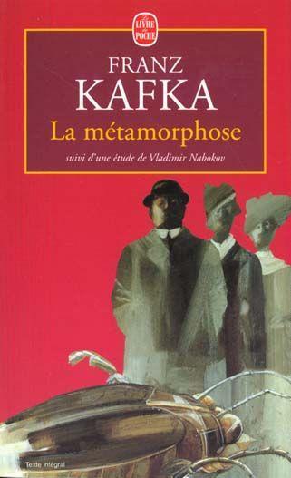 Livre - La Métamorphose - Franz Kafka