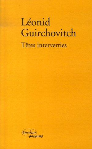 Vente  Têtes interverties  - Leonid Guirchovitch