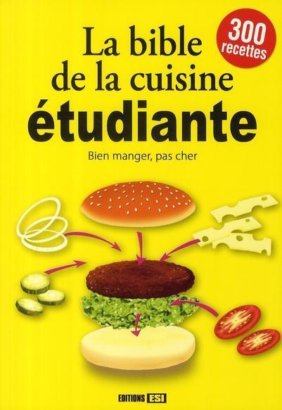 La bible de la cuisine tudiante collectif marc - Blog cuisine etudiante ...