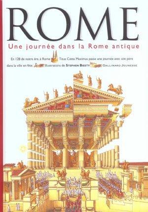 livre rome une journee dans la rome antique stephen biesty acheter occasion 13 03 2003. Black Bedroom Furniture Sets. Home Design Ideas
