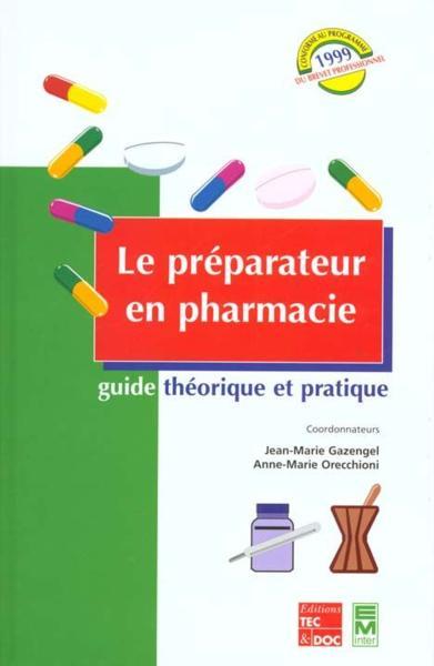 Le Manuel Porphyre Du Préparateur En Pharmacie de chantal ...