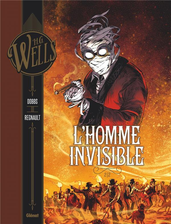 L'homme invisible T.2  - Dobbs  - Christophe Regnault  - Arancia Studio