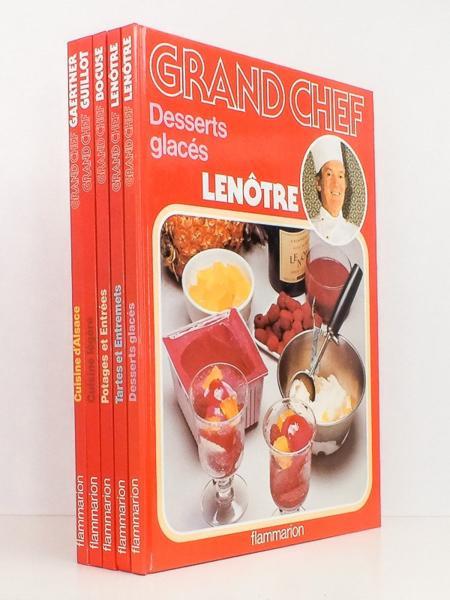 Livre lot de 5 livres de la coll grand chef potages - Livre cuisine grand chef ...