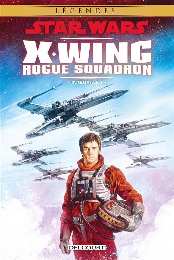 Vente Livre :                                    Star Wars - X-Wing Rogue Squadron ; INTEGRALE VOL.1                                      - Michael Atiyeh  - Haden Blackman  - Thomas Giorello