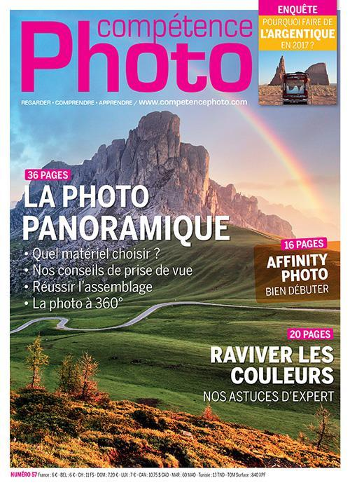 COMPETENCE PHOTO N.57 ; la photopanoramique  - Collectif