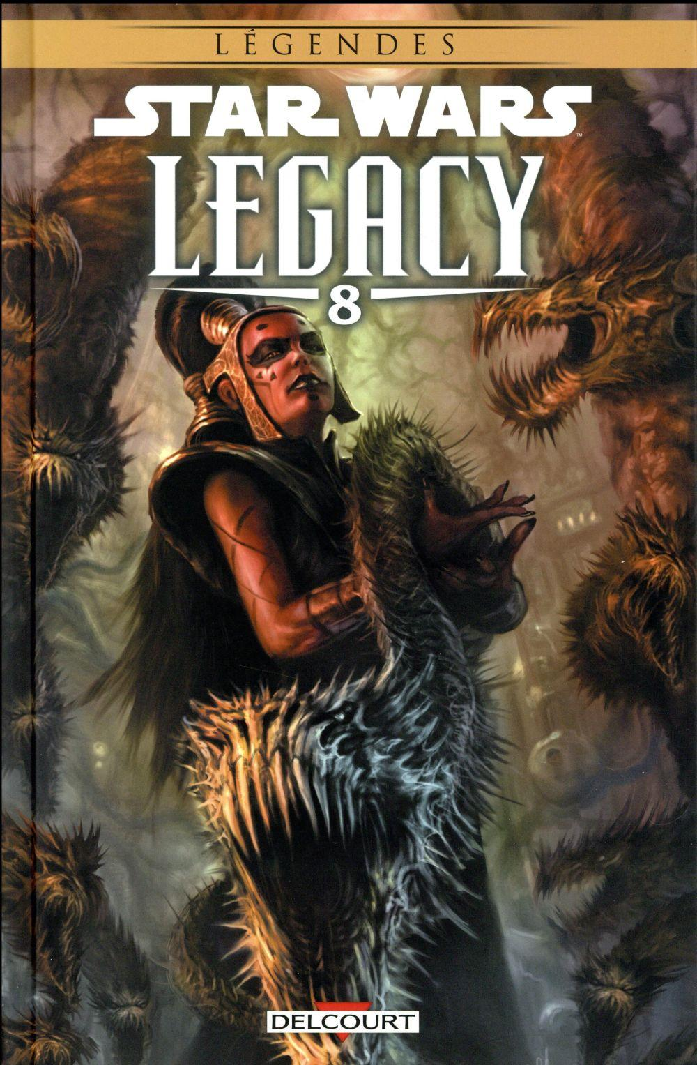 Star Wars ; Legacy T.8 ; monstre  - John Ostrander  - Jan Duursema  - Dave Ross