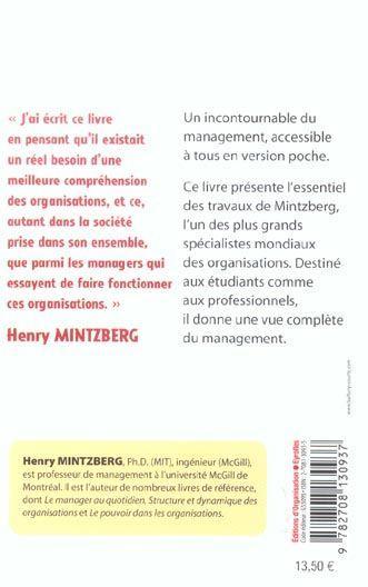 le management voyage au centre des Henry mintzberg définit le pouvoir politique dans les organisations  voyage au  centre des organisations.
