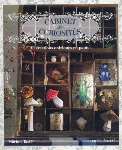 livre cabinets de curiosit s tasle marion. Black Bedroom Furniture Sets. Home Design Ideas