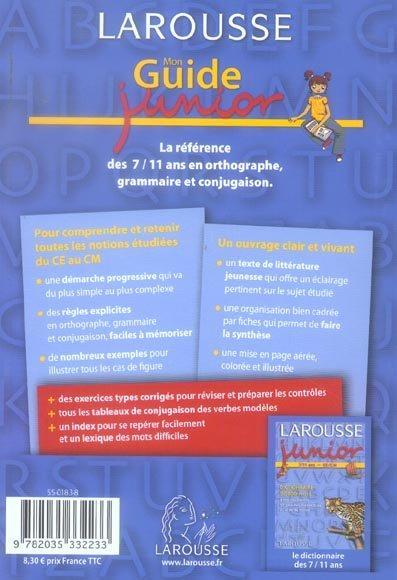 Guide de la conjugaison