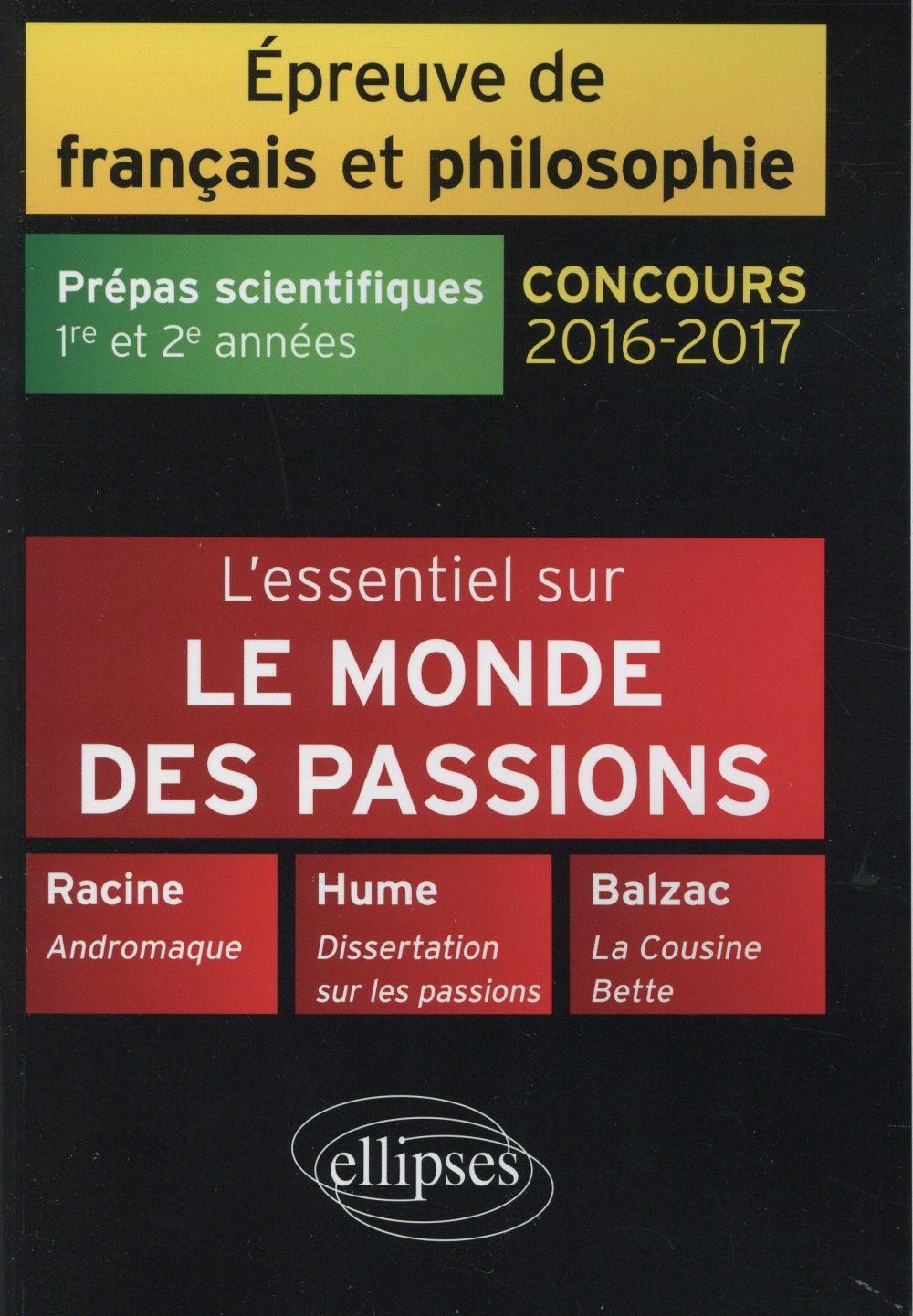 hume dissertation sur les passions prépa