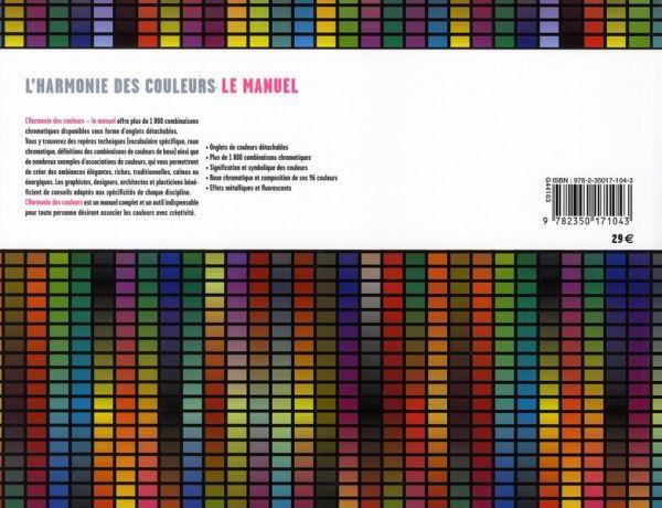 Livre l 39 harmonie des couleurs le manuel tina sutton - L harmonie des couleurs ...