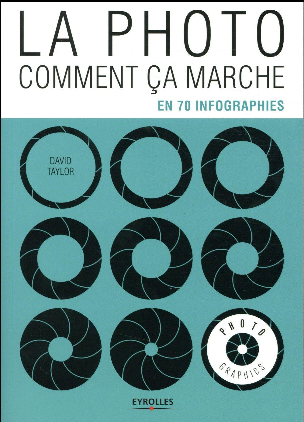 La photo, comment ça marche ; en 70 infographies  - David Taylor