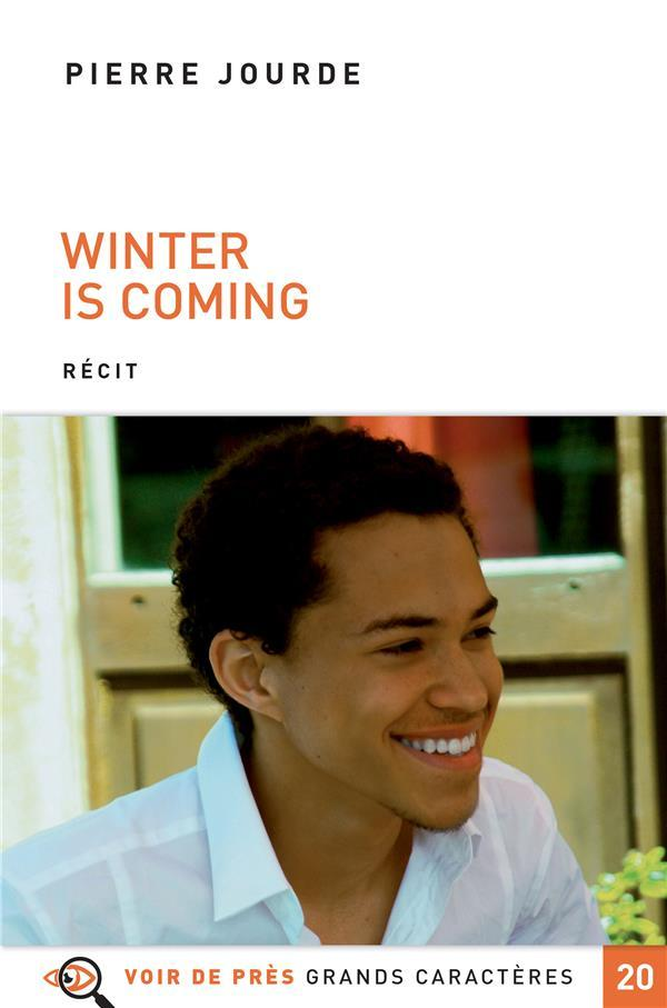 Vente  Winter is coming  - Pierre Jourde