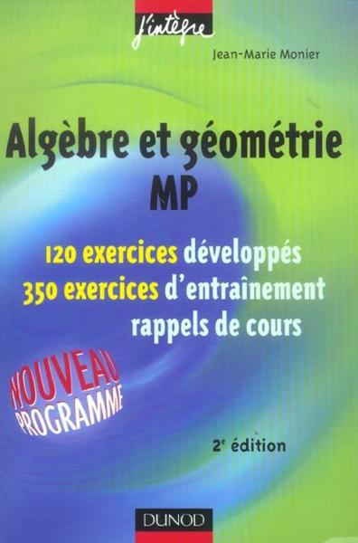 algebre generale mp cours