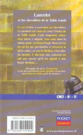 Livre lancelot et les chevaliers de la table ronde anne catherine vivet r my acheter - Jeu de societe les chevaliers de la table ronde ...