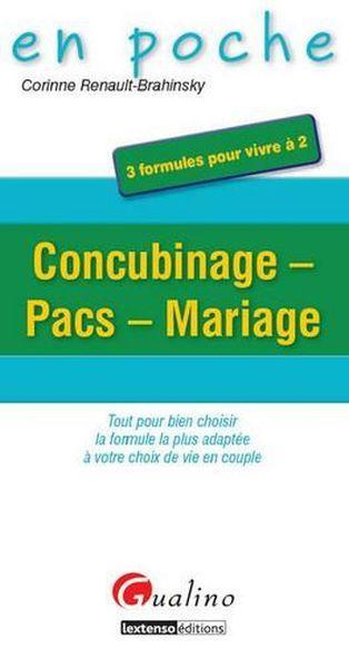 concubinage pacs mariage corinne renault brahinsky france loisirs suisse. Black Bedroom Furniture Sets. Home Design Ideas