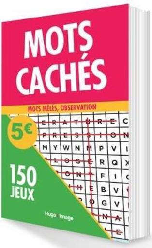 Mots Cachés 150 Jeux Collectif Livre France Loisirs