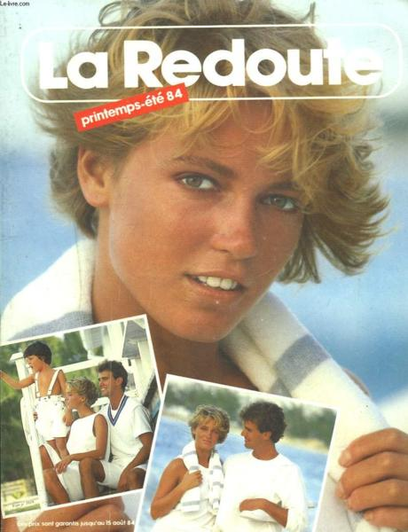 livre catalogue la redoute printemps ete 1984. Black Bedroom Furniture Sets. Home Design Ideas
