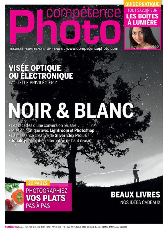 Competence Photo N.55 ; Noir Et Blanc  - Collectif