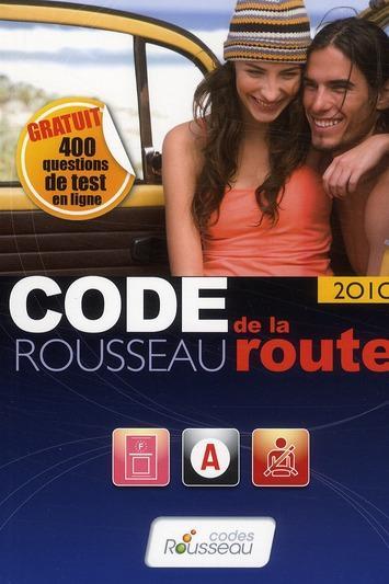 code rousseau de la route dition 2010 collectif livre france loisirs. Black Bedroom Furniture Sets. Home Design Ideas