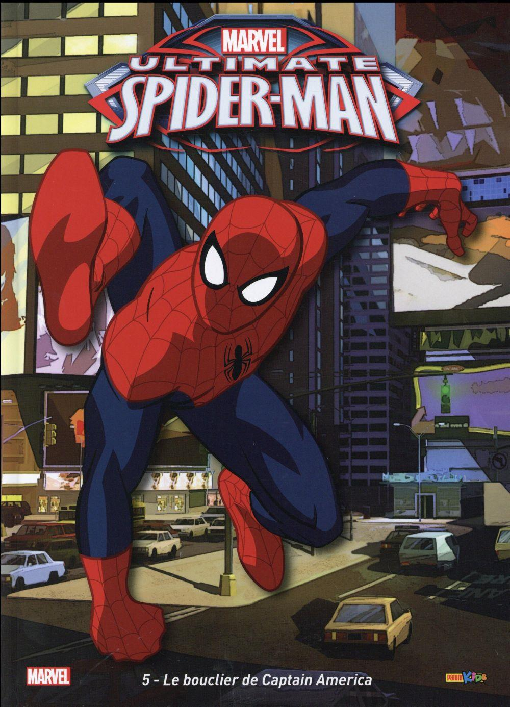Ultimate Spider-Man T.5 ; Le Bouclier De Captain America  - Collectif