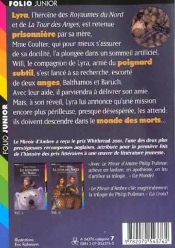 Livre la crois e des mondes t 3 le miroir d 39 ambre for Le miroir d ambre