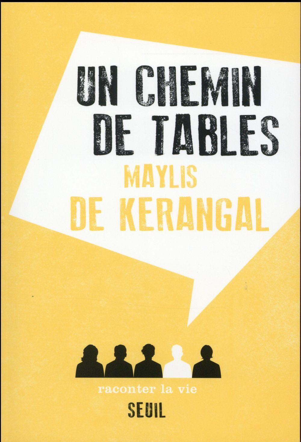 Un chemin de tables maylis de kerangal livre france - Un chemin de table ...