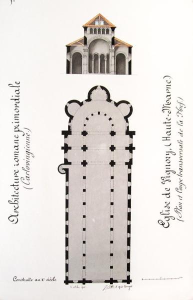 Livre architecture carlovingienne architecture romane for Architecture romane definition