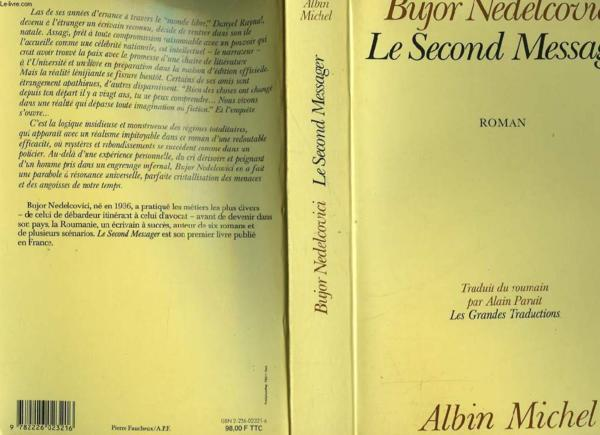 Le Second Messager  - Bujor Nedelcovici