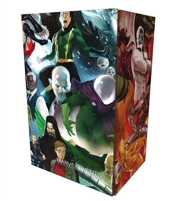 Marvel events ; Spider-Man, the new Avenger ; coffret  - Collectif