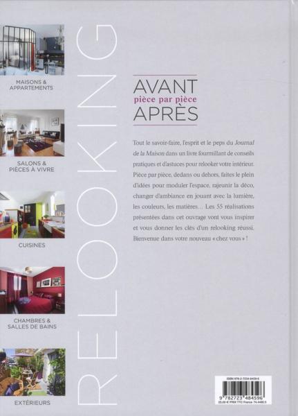 livre le journal de la maison relooking avant apr s. Black Bedroom Furniture Sets. Home Design Ideas