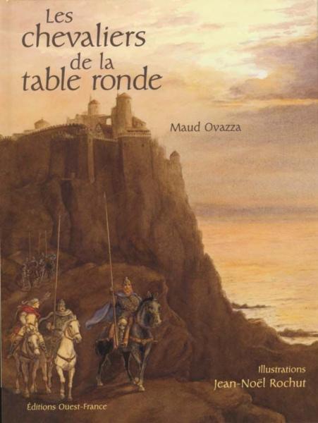 livre les chevaliers de la table ronde maud ovazza