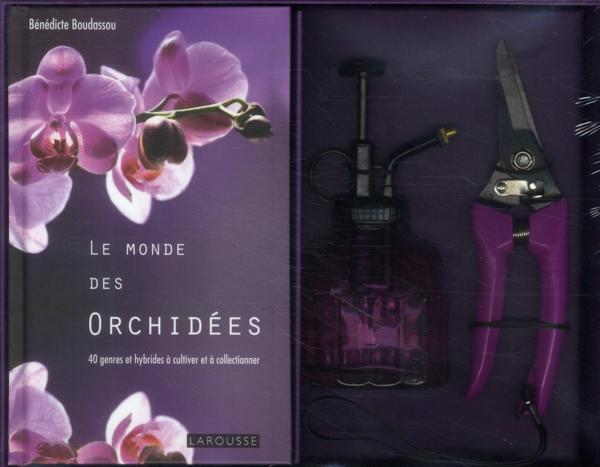 Livre le monde des orchid es collectif for Jardinage le monde