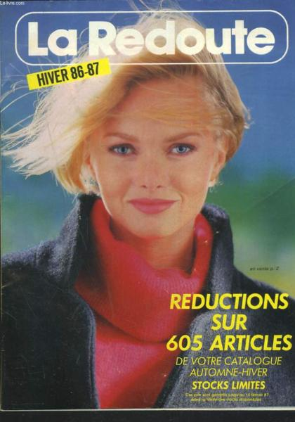 livre catalogue la redoute hiver 1986 1987 redctions sur 605 articles collectif. Black Bedroom Furniture Sets. Home Design Ideas