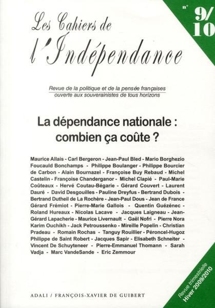 Les cahiers de l 39 ind pendance t 9 10 la d pendance nationale combien - Amenager des combles combien ca coute ...