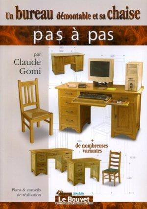 livre un bureau d montable et sa chaise claude gomi. Black Bedroom Furniture Sets. Home Design Ideas