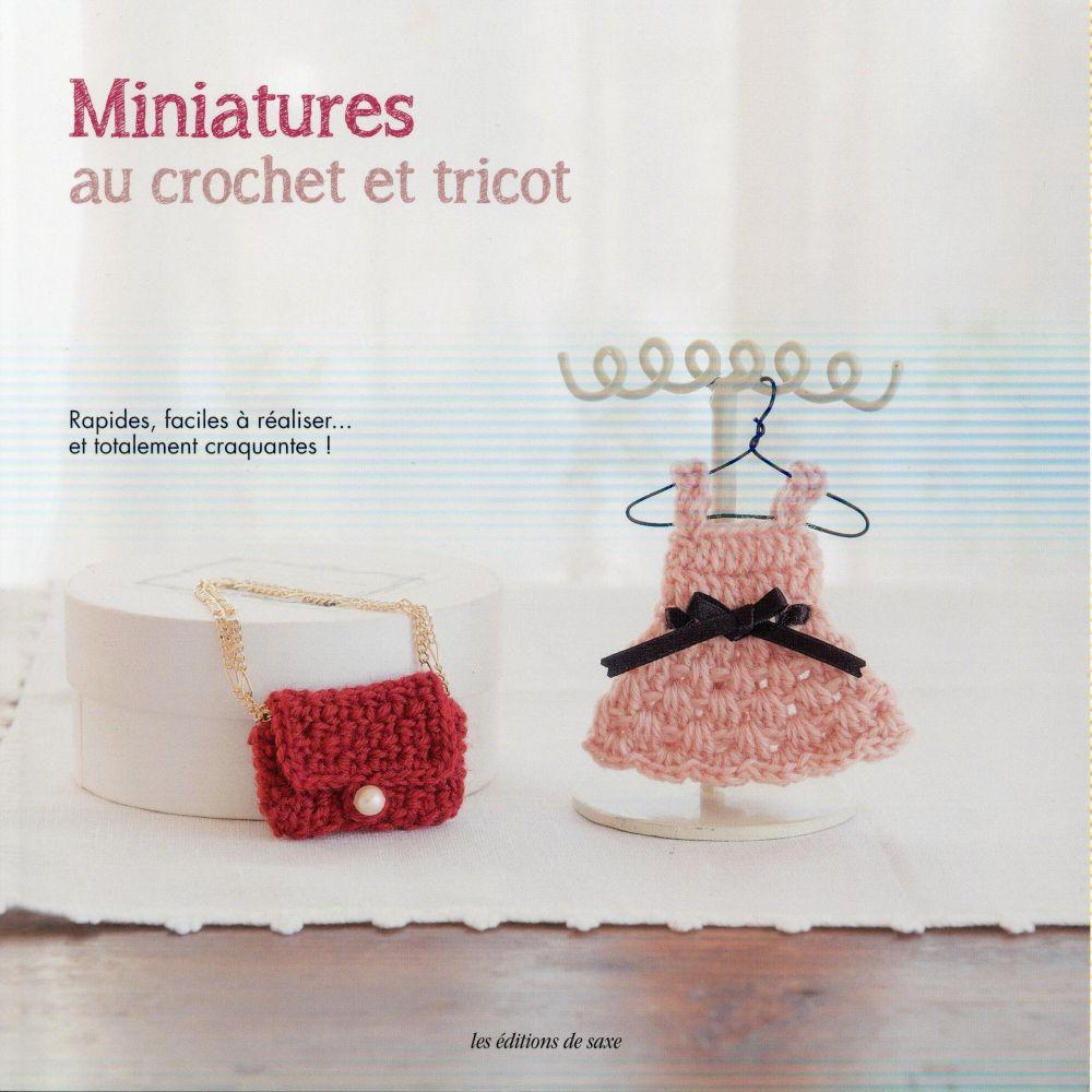 Miniatures au crochet et tricot  - Collectif