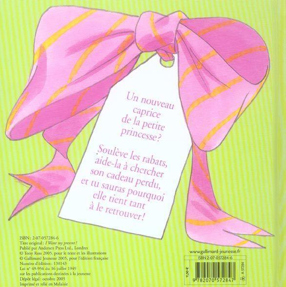 Livre je veux mon cadeau tony ross acheter - Je choisis mon cadeau ...