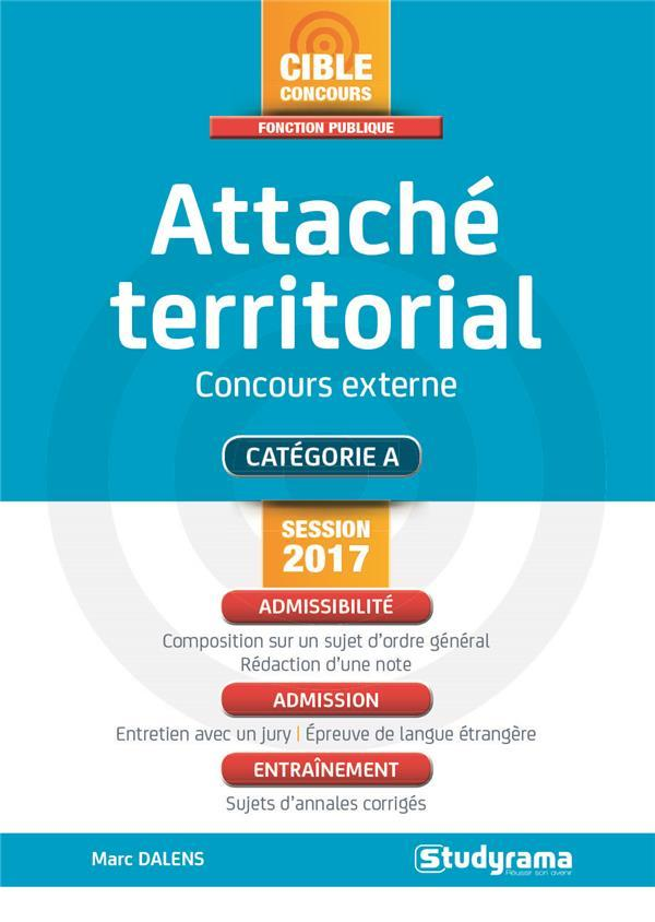 ef32d2c02a8 Attaché territorial   concours extrerne   catégorie A (session 2017 ...