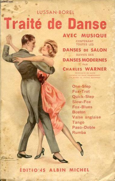 Livre traite de danse avec musique contenant toutes les for Rumba danse de salon