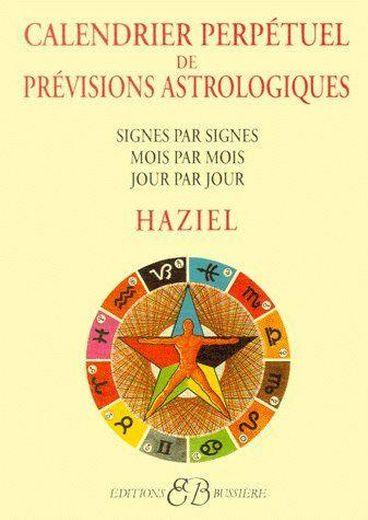 livre calendrier perpetuel des previsions astrologiques. Black Bedroom Furniture Sets. Home Design Ideas