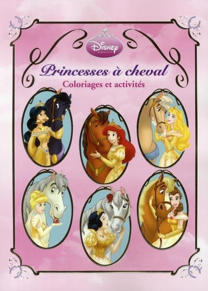 Livre princesse cheval m ga activit s et coloriages collectif - Princesse cheval ...