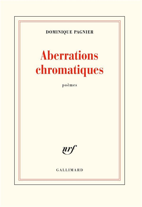 Vente  Aberrations chromatiques  - Dominique Pagnier