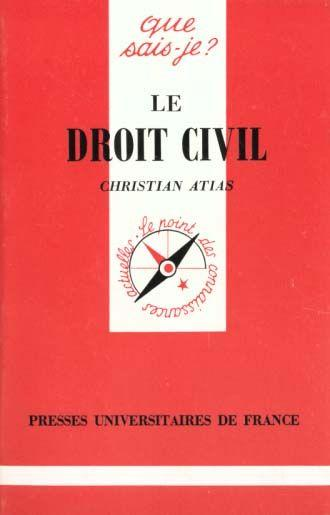 Droit civil (le)  - Atias Clara