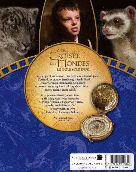 À la croisée des mondes ; la boussole d'or - 4ème de couverture