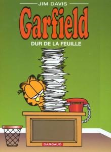 Garfield T.30 ; Garfield dur de la feuille  - Jim Davis
