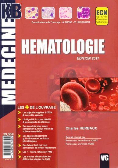 kb hématologie