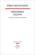 Dernières leçons ; collège de France ; 1968 et 1969