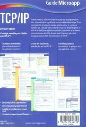 Tcp / Ip - 4ème de couverture - Format classique